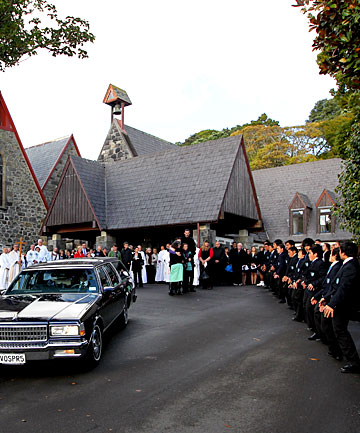 Rev William Graeme Clark funeral