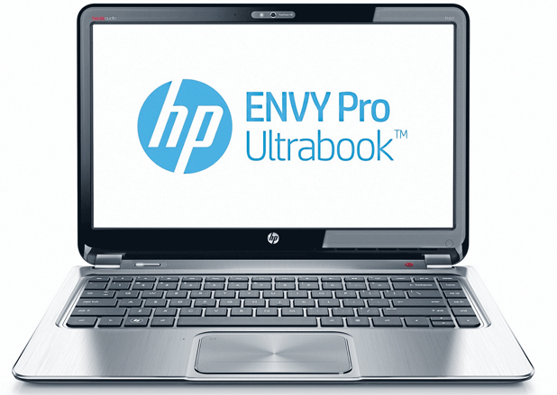 HP ULTRABOOK: Part of HP's new line of thin and light notebook computers.