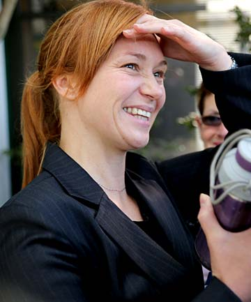 Kara Hurring after verdict