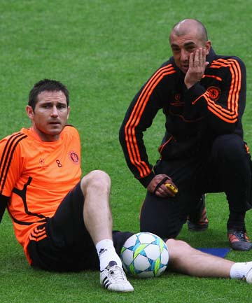 Frank Lampard and Roberto Di Matteo