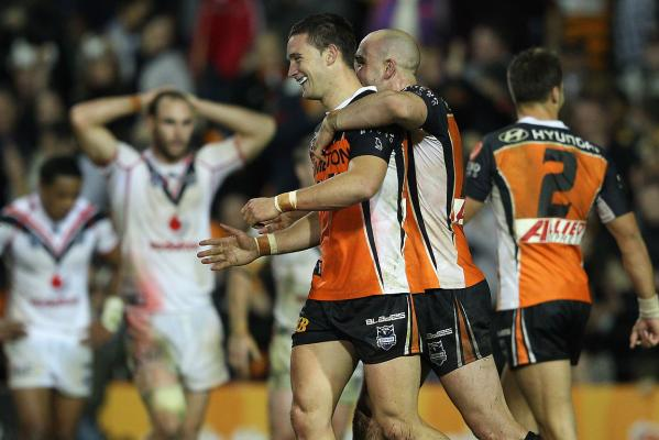 Warriors v Wests Tigers