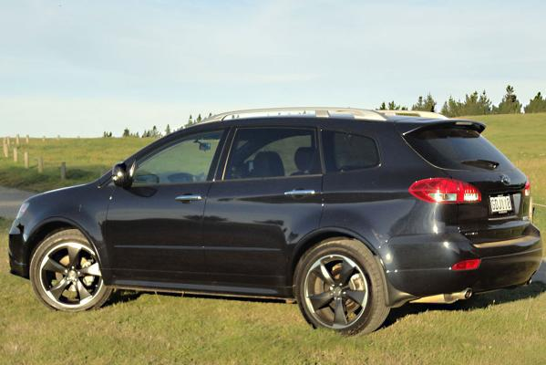 Subaru's Tribeca is one of the sharper looking seven-seaters around.