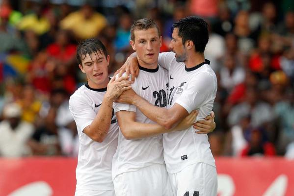 Tim Payne, Chris Wood and Shane Smeltz