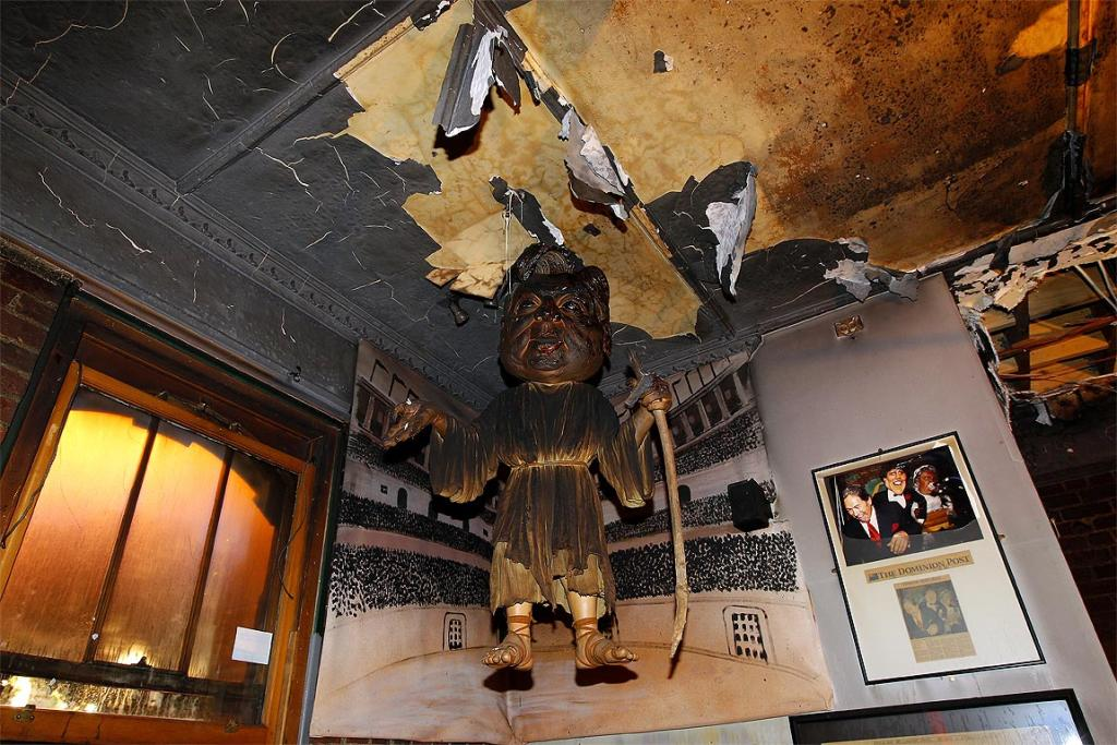 BLAZE: Damaged puppets could cost $10,000 to replace.