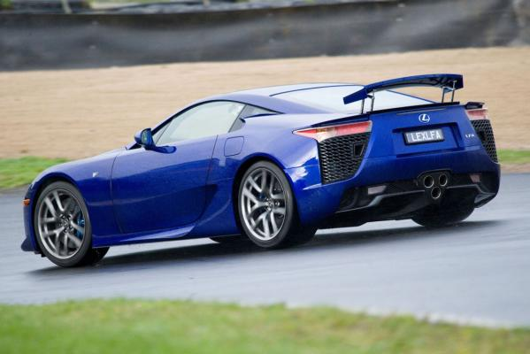 Lexus V10 supercar delivers on track and on the road, and makes all the right noises.