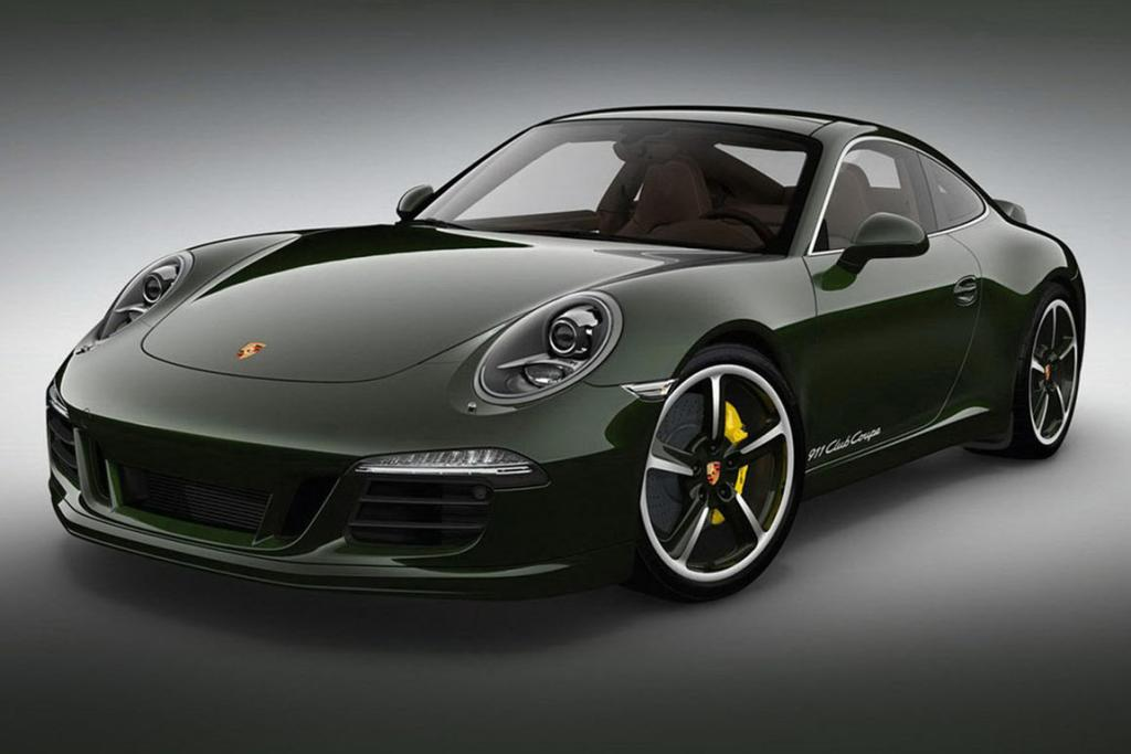 Only 12 of the 911 Porsche Club Coupes will be made available to the public.