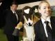Agent Friesian, DairyNZ's cow mascot Rosie and Agent Jersey bust some 'mooves' at Fieldays.