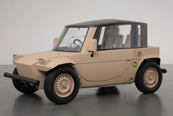 Toyota's toy car concepts. The Camette ''Daichi''.