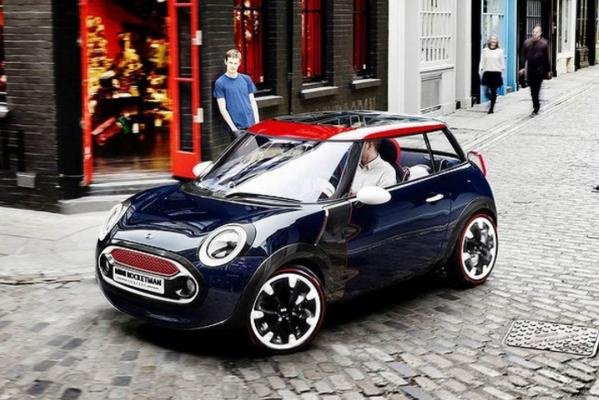 Mini's concept Rocketman.