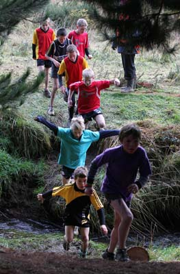 2012 Southland Primary School Cross Country.