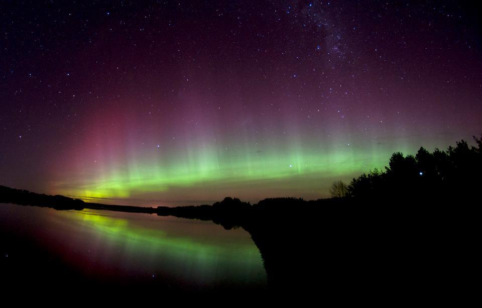Spectacular Aurora Australis seen in Southland Stuff.co.nz