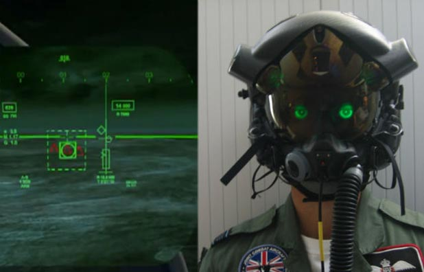 F-35 fighter helmet