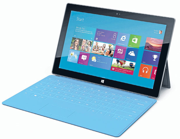 SURFACE: Microsoft's announcement it was entering the hardware market with its own tablet computers surprised some this week.
