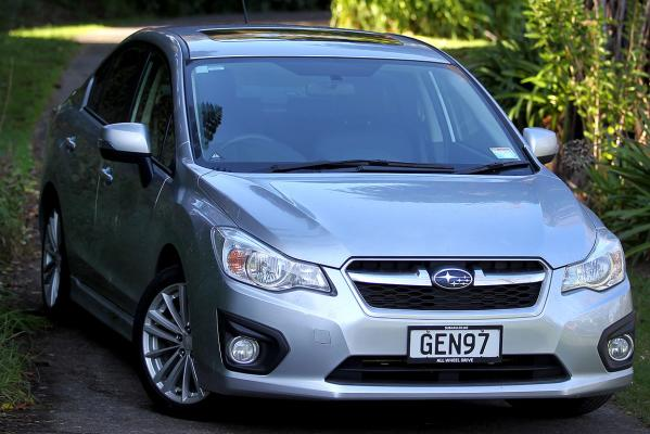 The new Subaru Impreza 2.0I-SL.