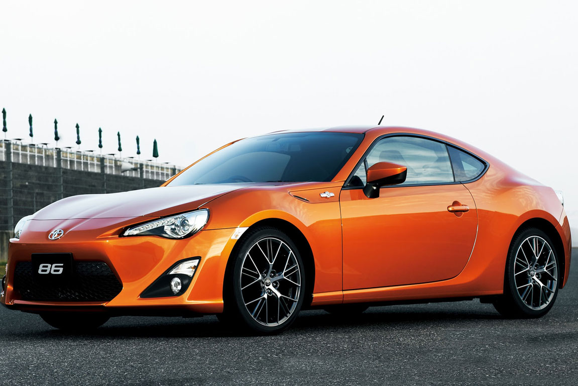 The Toyota 86 will