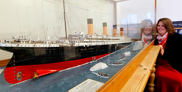 Titanic Goes In Museum Clean Out Stuff Co Nz