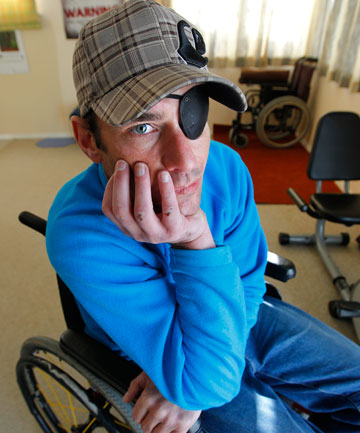 Sickness beneficiary Marc McCloud