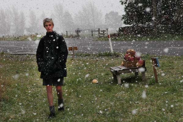 Southerly snow June 27 2012