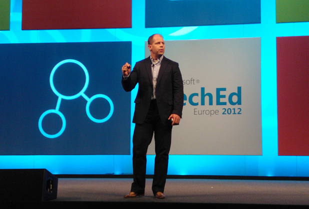Brad Anderson, corporate vice president of Microsoft's management and security division.