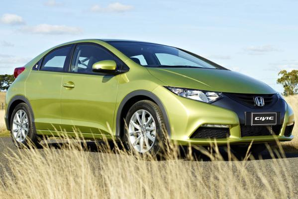 Striking profile: New UK-built Honda Civic is a style-changer in this segment.