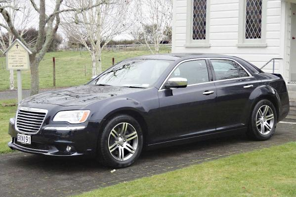 The new Chrysler 300.