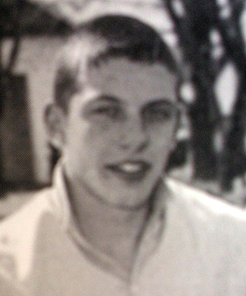 BUSY BOY: Scott Guy, pictured as a house captain at Feilding High School in 1995.