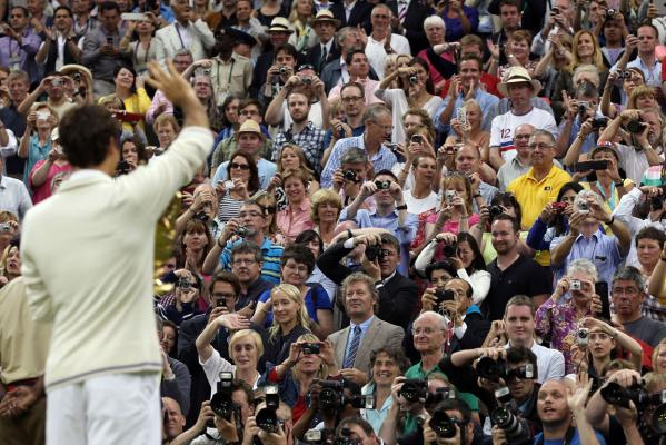 Wimbledon 2012 final