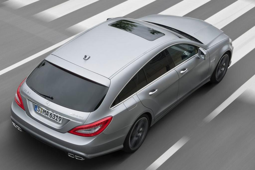 Mercedes-Benz AMG 6.3 CLS Shooting Brake