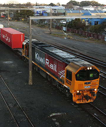 COST CUTTING: Rail and Maritime Transport Union national president Aubrey Wilkinson says the Government seems to be preparing KiwiRail for
