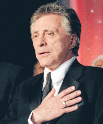 MAN FOR FOUR SEASONS: Back to the fore, Frankie Valli.