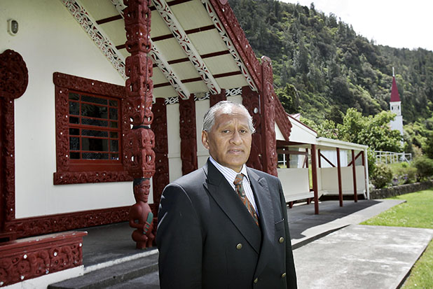 Timoti te Heuheu will lay in state at Waihi Marae on the shores of Lake Taupo.