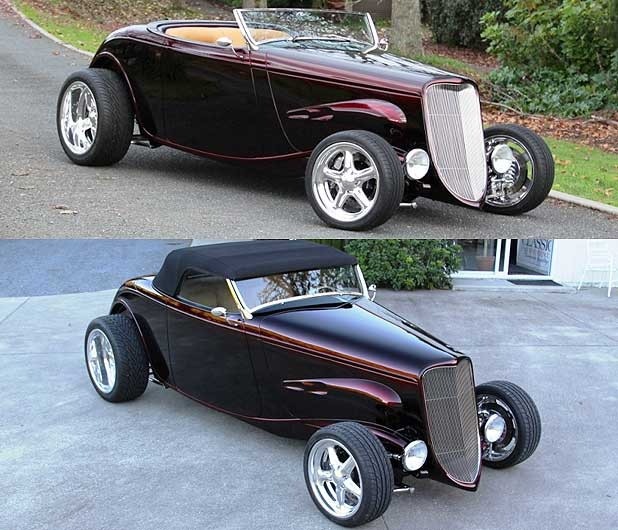 New Zealand-built Speed 33 hot rod