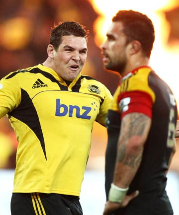 Ben May and Liam Messam