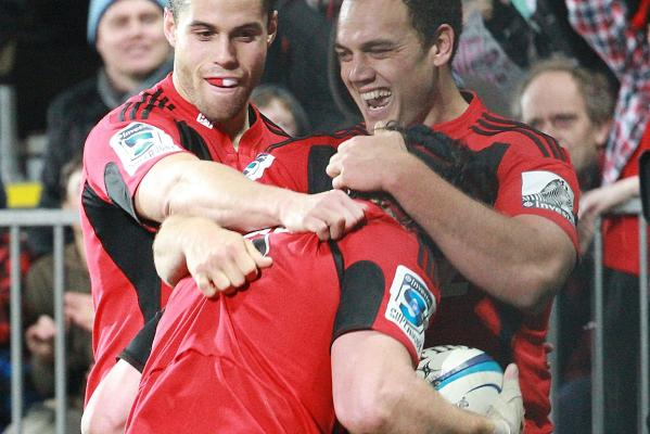 Crusaders v Rebels
