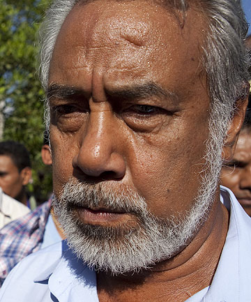 FRAGILE DEMOCRACY: East Timor Prime Minister Xanana Gusmao.