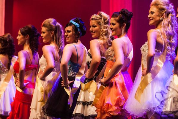 Miss Manawatu and Miss Teen 2012 competition