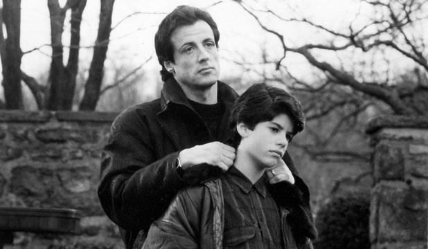 Sylvestor and Sage Stallone