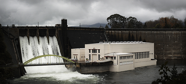 EXTRA FLOW: Mighty River Power began releasing extra water from Lake Karapiro yesterday.