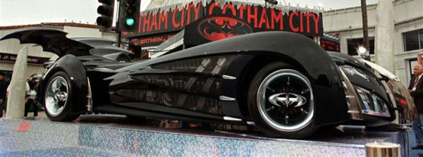 Batmobile from Batman and Robin.