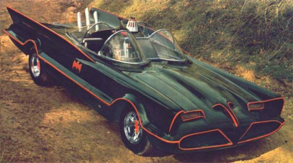 Batmobile from the television series, Batman.