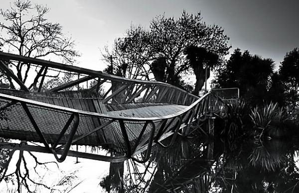 Joel Bensing - twisted footbridge