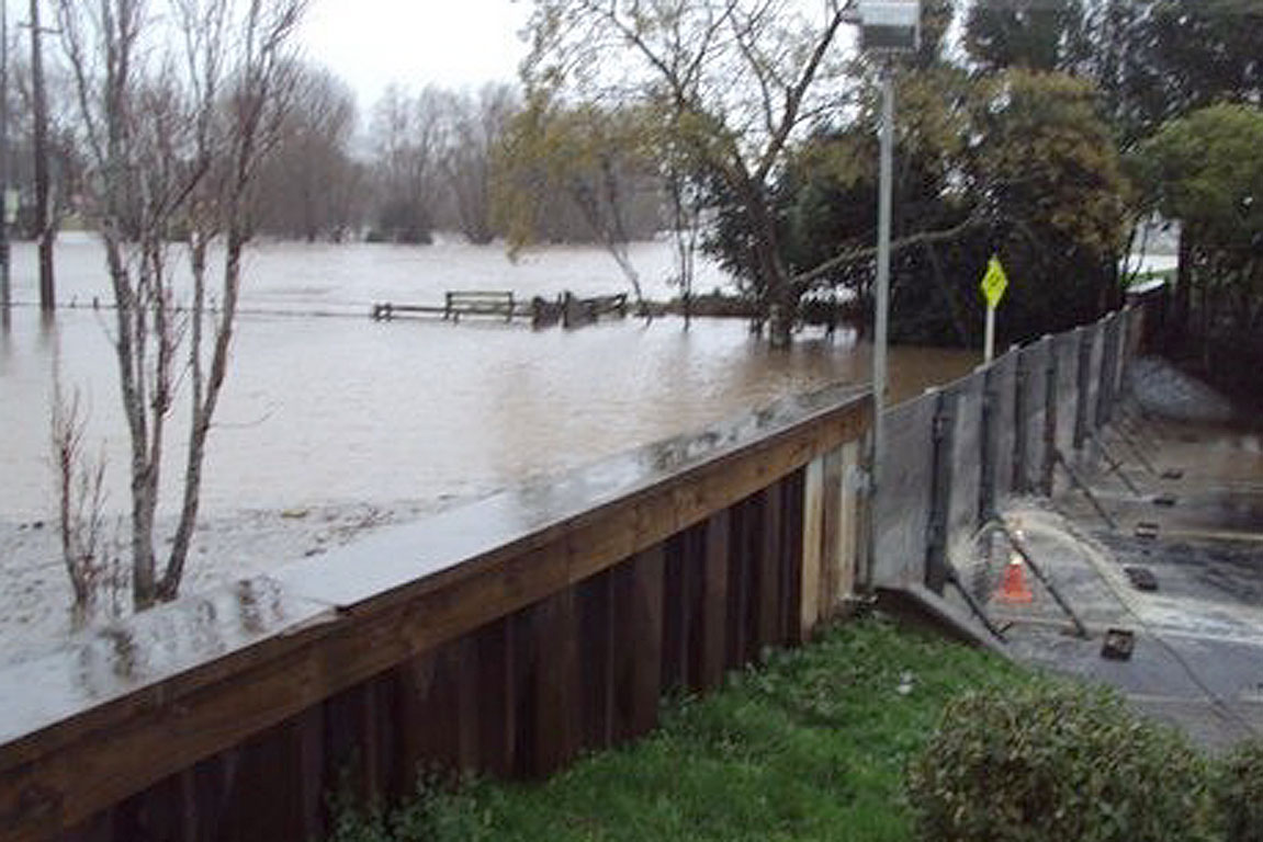 North Island flooding