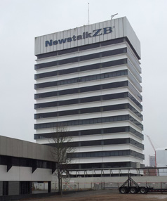 RADIO NETWORK HOUSE: New Zealand's first building implosion is the subject of an online auction.