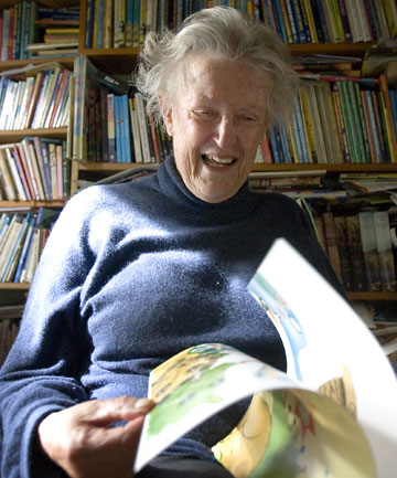 Margaret Mahy, photographed in 2008, at home in Governors Bay. Her work was translated into 15 languages.