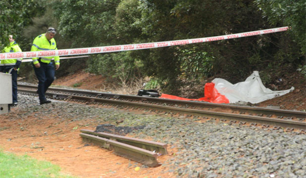 A teenager was hit and killed by a train in Matamata.