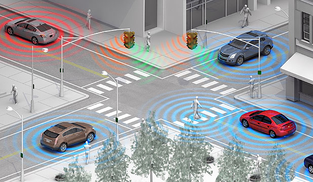 Wireless Pedestrian Detection Technology