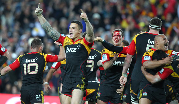 Sonny Bill Williams land