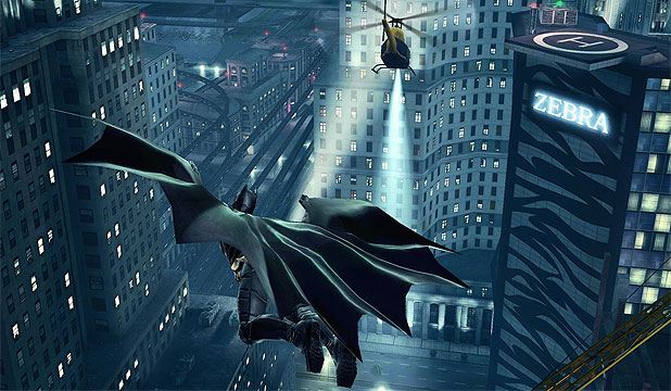 The Dark Knight Rises app by Gameloft