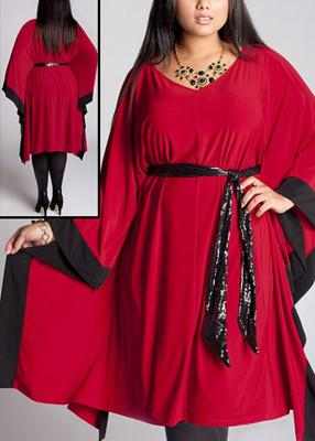 Plussize party frocks