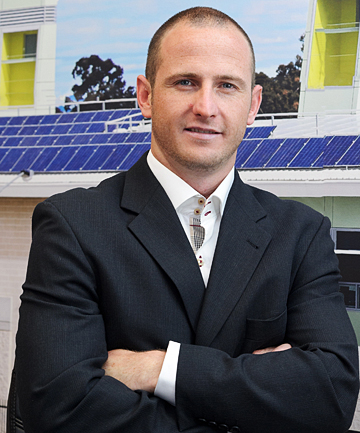 Powersmart Solar director Mike Bassett-Smith